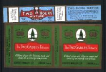 OLD Collectable Empty  Cigarette tobacco packet labels #706